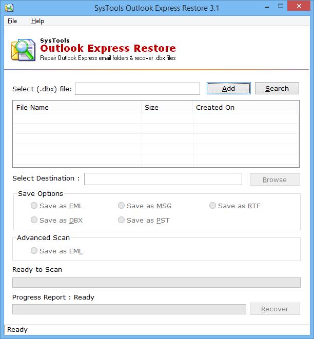 dbx repair software